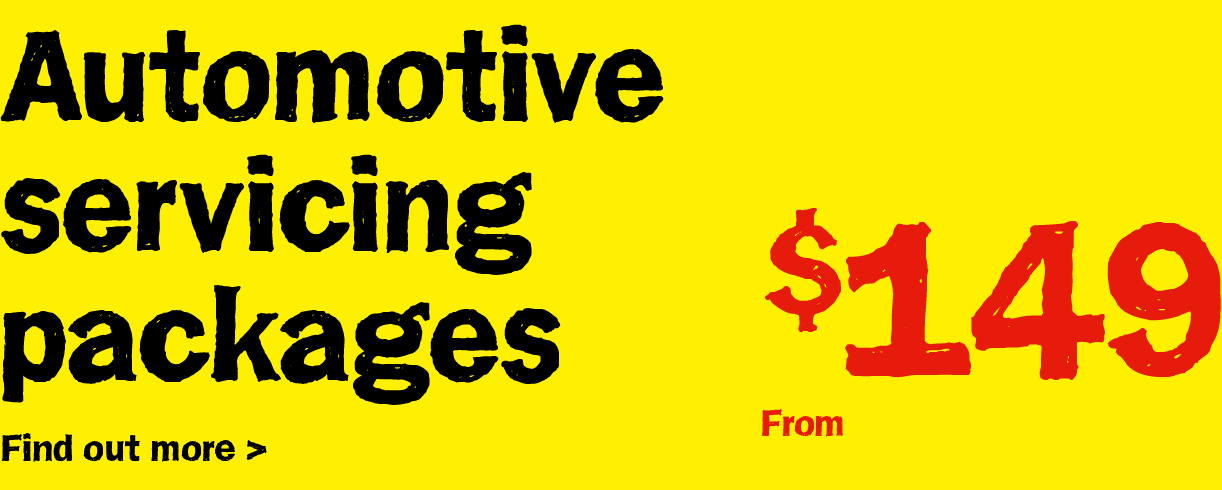 Automotive Servicing - Car, 4x4 and Van Servicing from $149